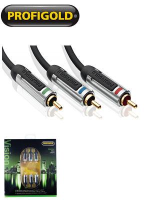 Profigold Skyline Prov3307 7.5m Component Video Cable