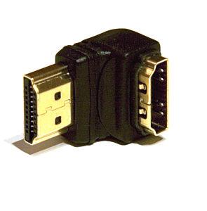 Slimline Right Angle HDMI adapter 90 Degree