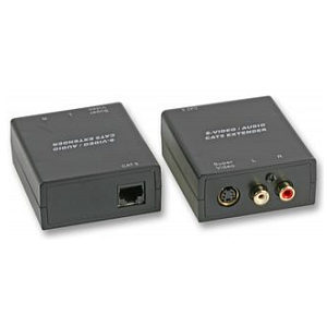 s video plus audio over cat5 extender balun kit tvcables. Black Bedroom Furniture Sets. Home Design Ideas